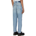 Ksubi Blue Bullet Jinx Trashed Jeans