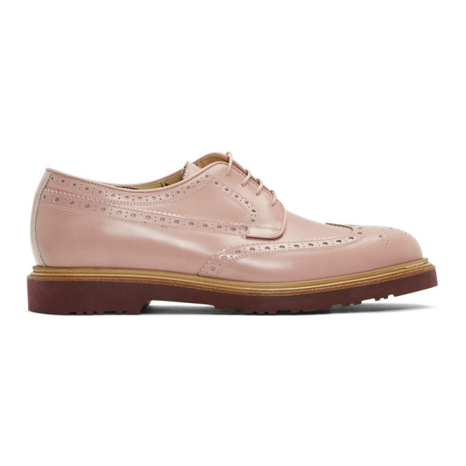 Photo: Paul Smith Pink Crispin Brogues