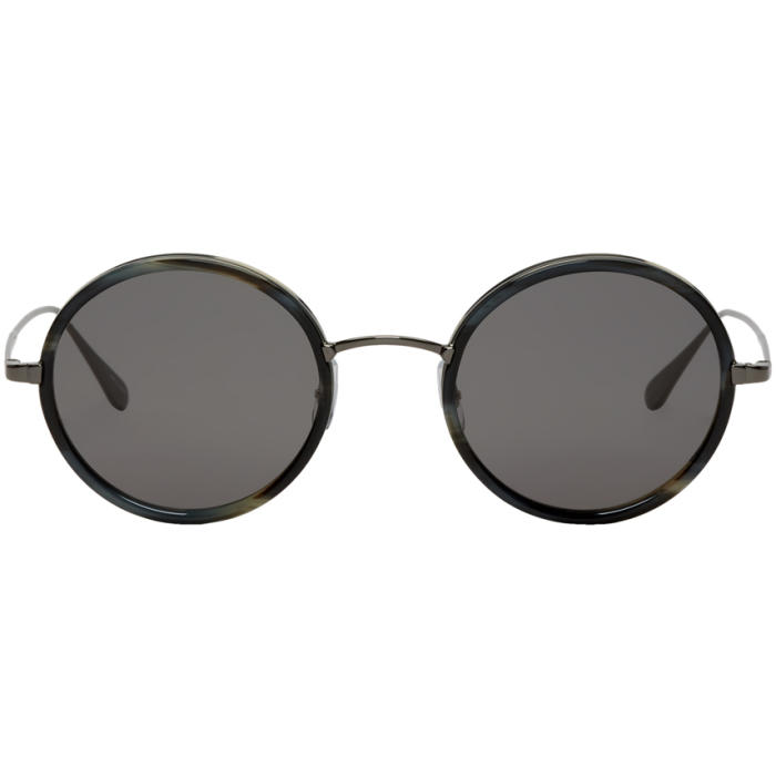 Photo: Garrett Leight Gunmetal Playa Sunglasses