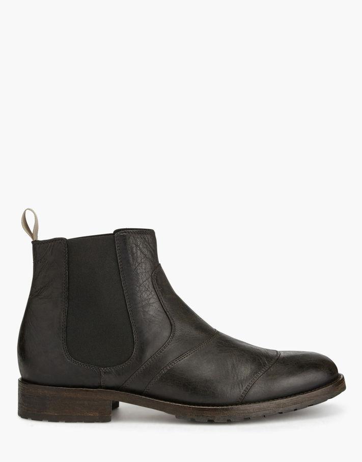 Belstaff Lancaster Ankle Boots Brown