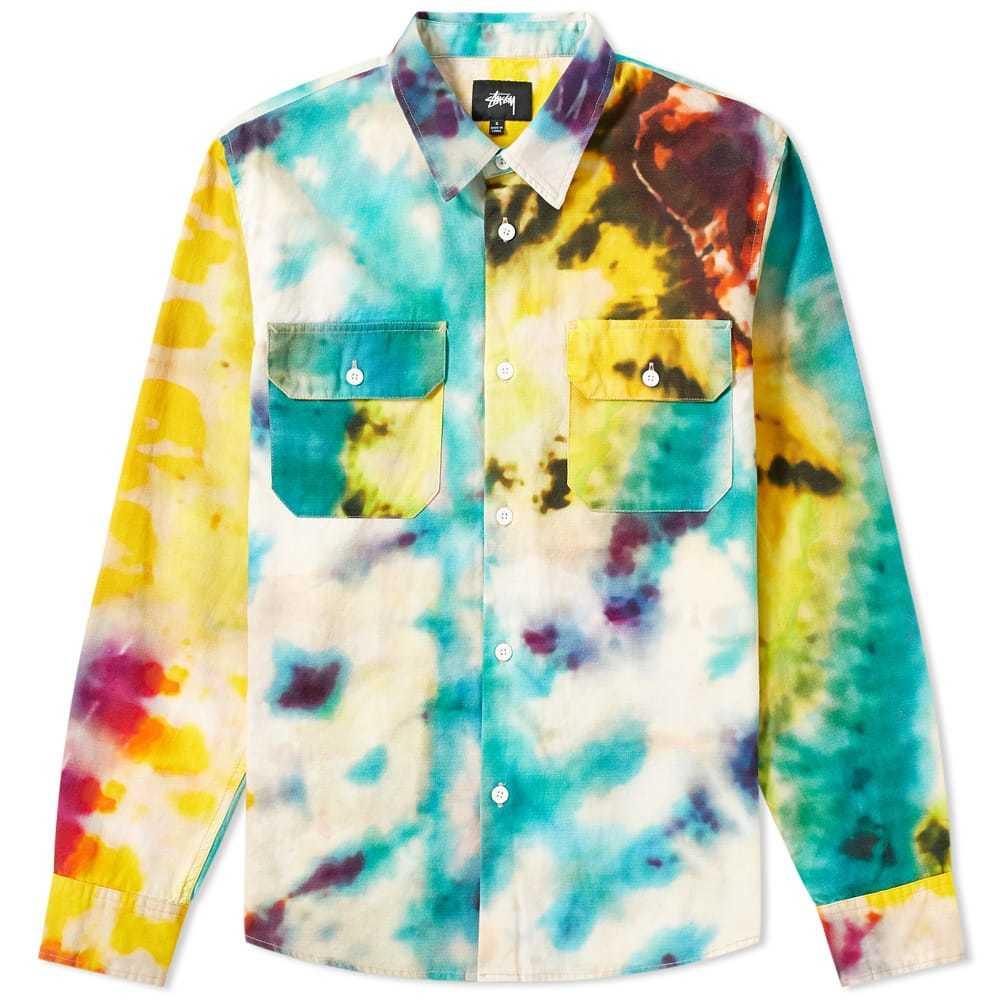 Photo: Stussy Tie Dye Work Shirt