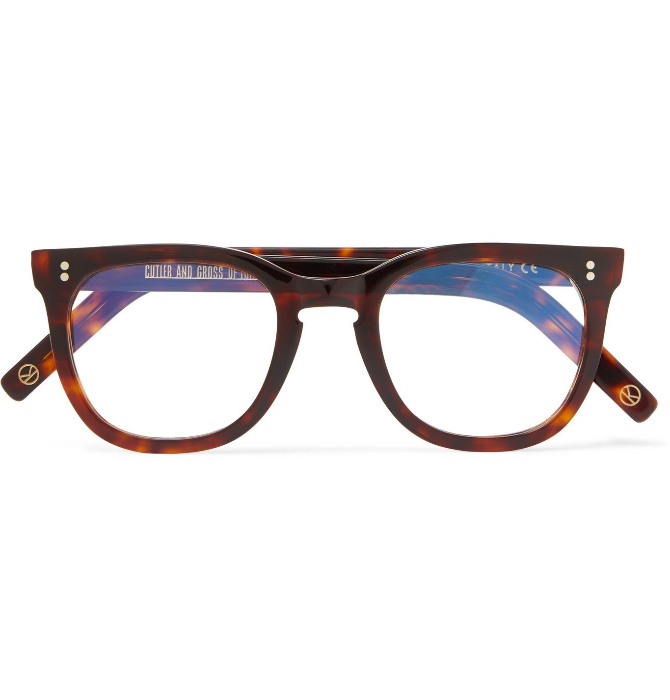 Photo: Kingsman - Cutler and Gross Square-Frame Tortoiseshell Acetate Optical Glasses - Tortoiseshell