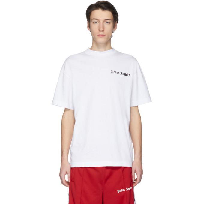 Photo: Palm Angels White New Basic T-Shirt
