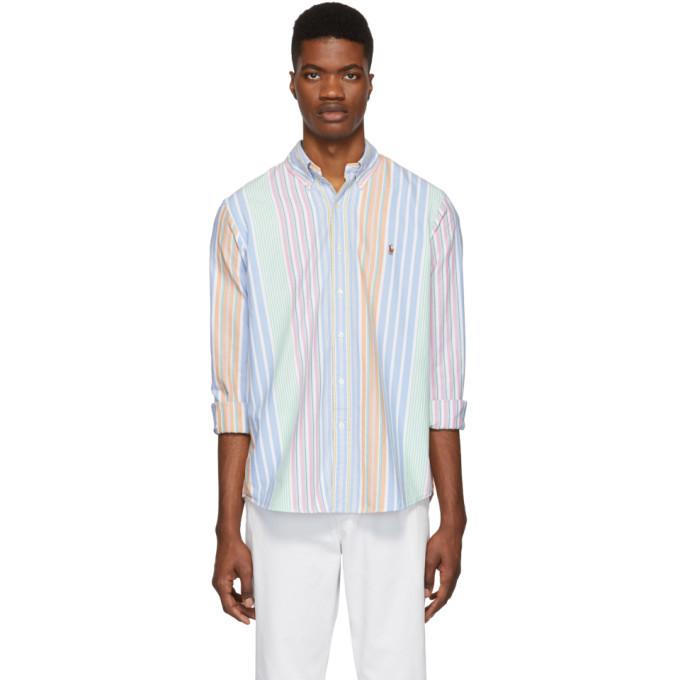 Photo: Polo Ralph Lauren Multicolor Striped Oxford Shirt