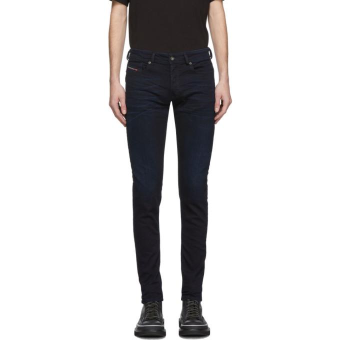Photo: Diesel Blue Sleenker 0095X Jeans