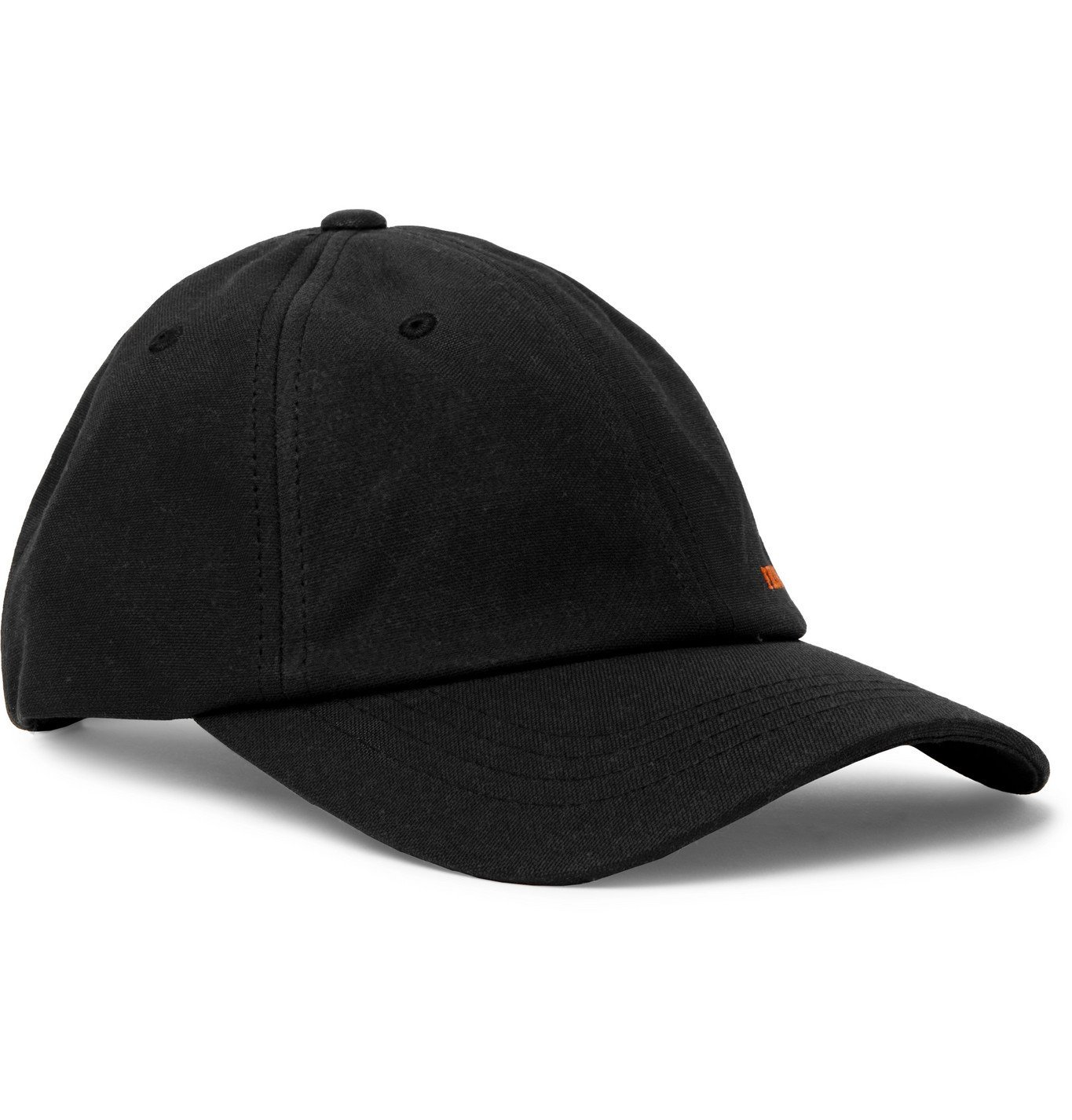 Photo: Filson - Logo-Embroidered Cotton Baseball Cap - Black