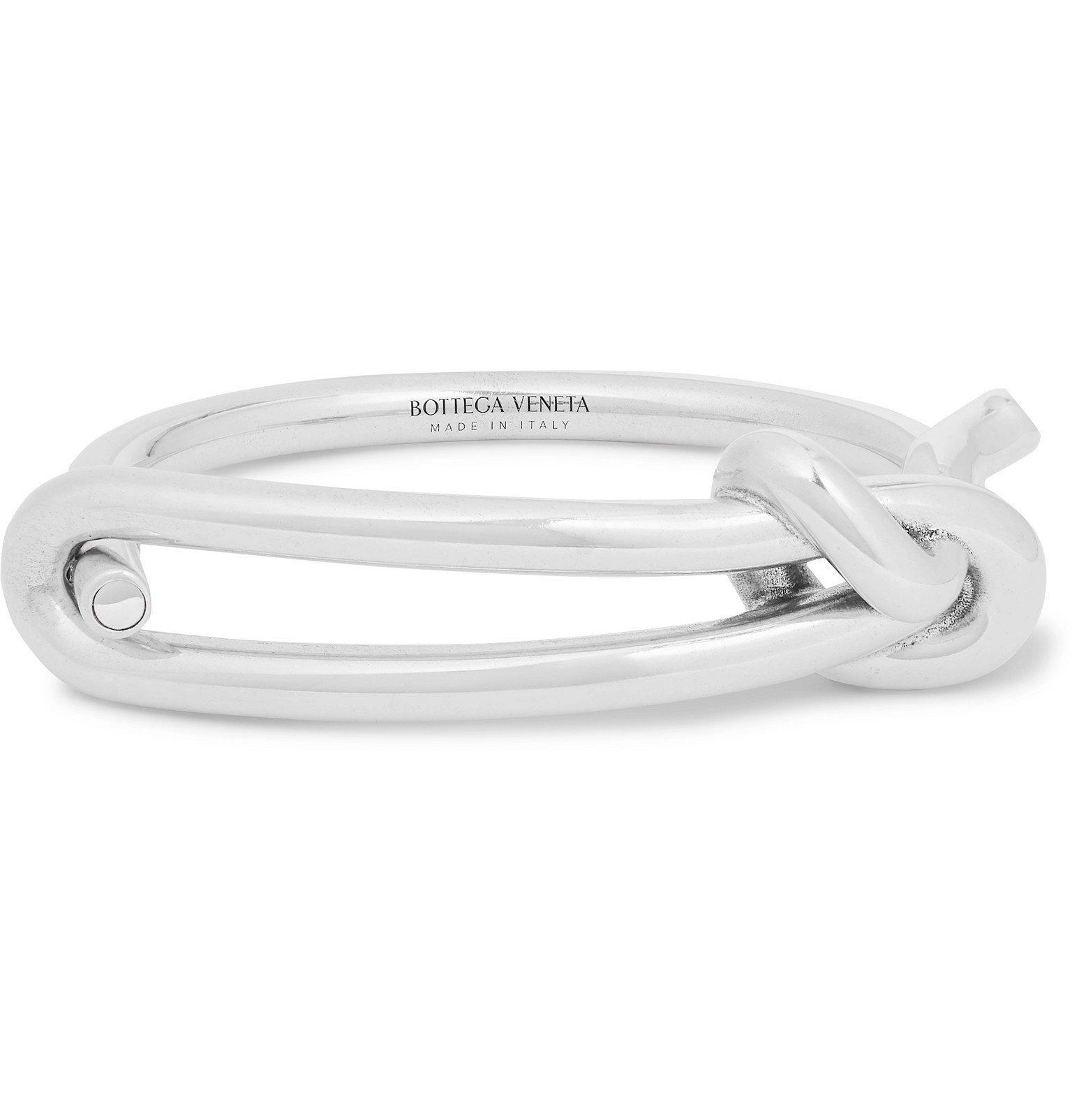 Photo: Bottega Veneta - Sterling Silver Bracelet - Silver