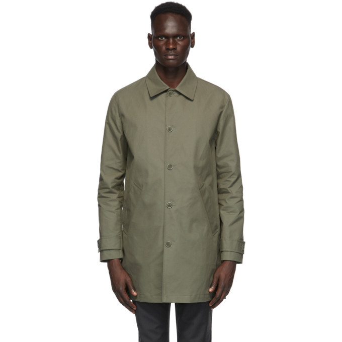 Photo: A.P.C. Khaki Victor Rain Coat
