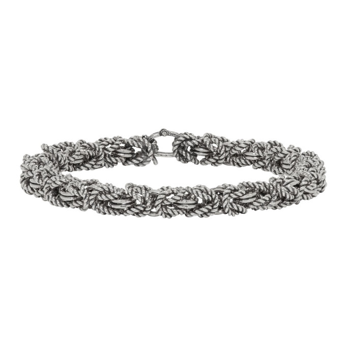 Photo: Ugo Cacciatori Silver Byzantine Bracelet