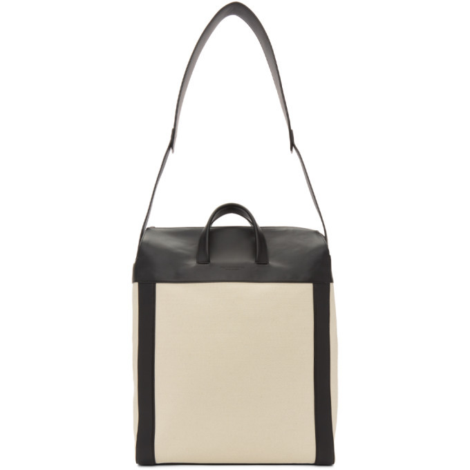 Bottega Veneta Off-White Canvas Medium Tote