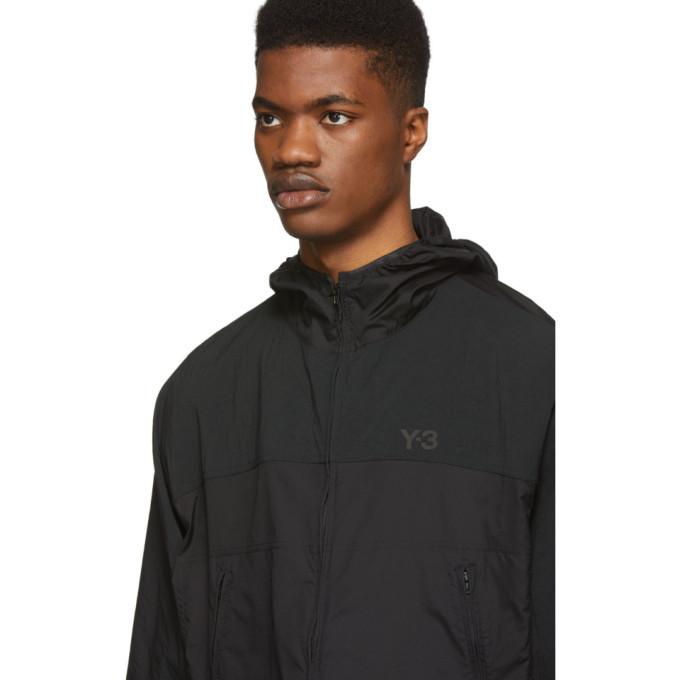 Y-3 Black Packable Adizero Jacket