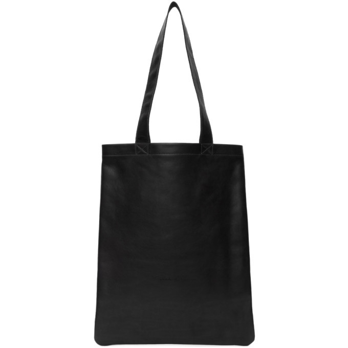 Photo: Rick Owens Black Leather Tote