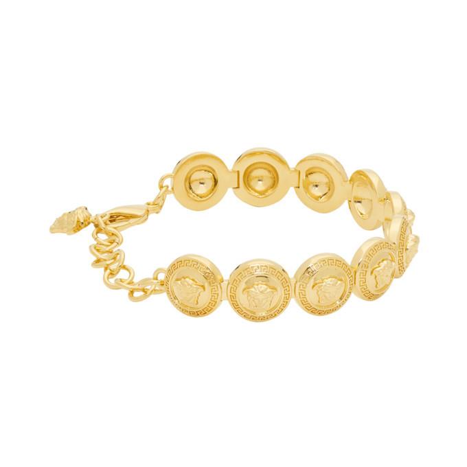 Versace Gold Medusa Medallion Bracelet