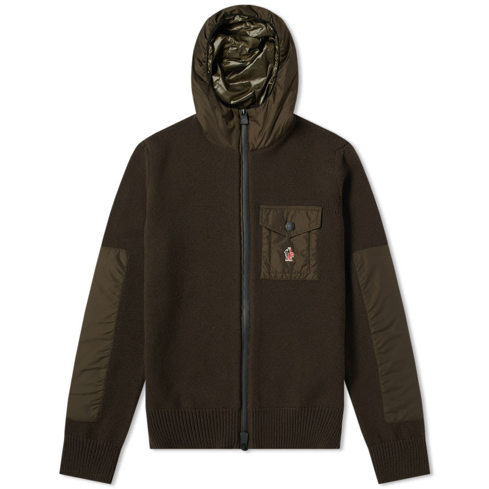 Photo: Moncler Grenoble Hooded Knit Jacket