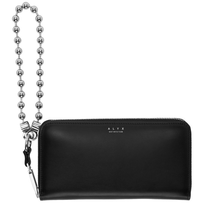 Photo: Alyx Black Ball Chain Baxter Wallet