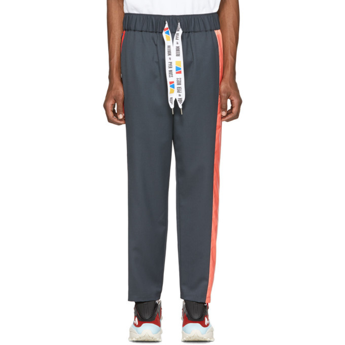 Photo: Reebok by Pyer Moss Grey Collection 3 Elasticized Lounge Pants