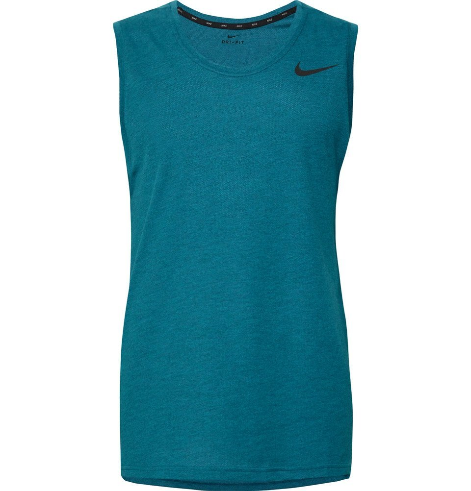 Photo: Nike Training - Breathe Dri-FIT Tank Top - Teal