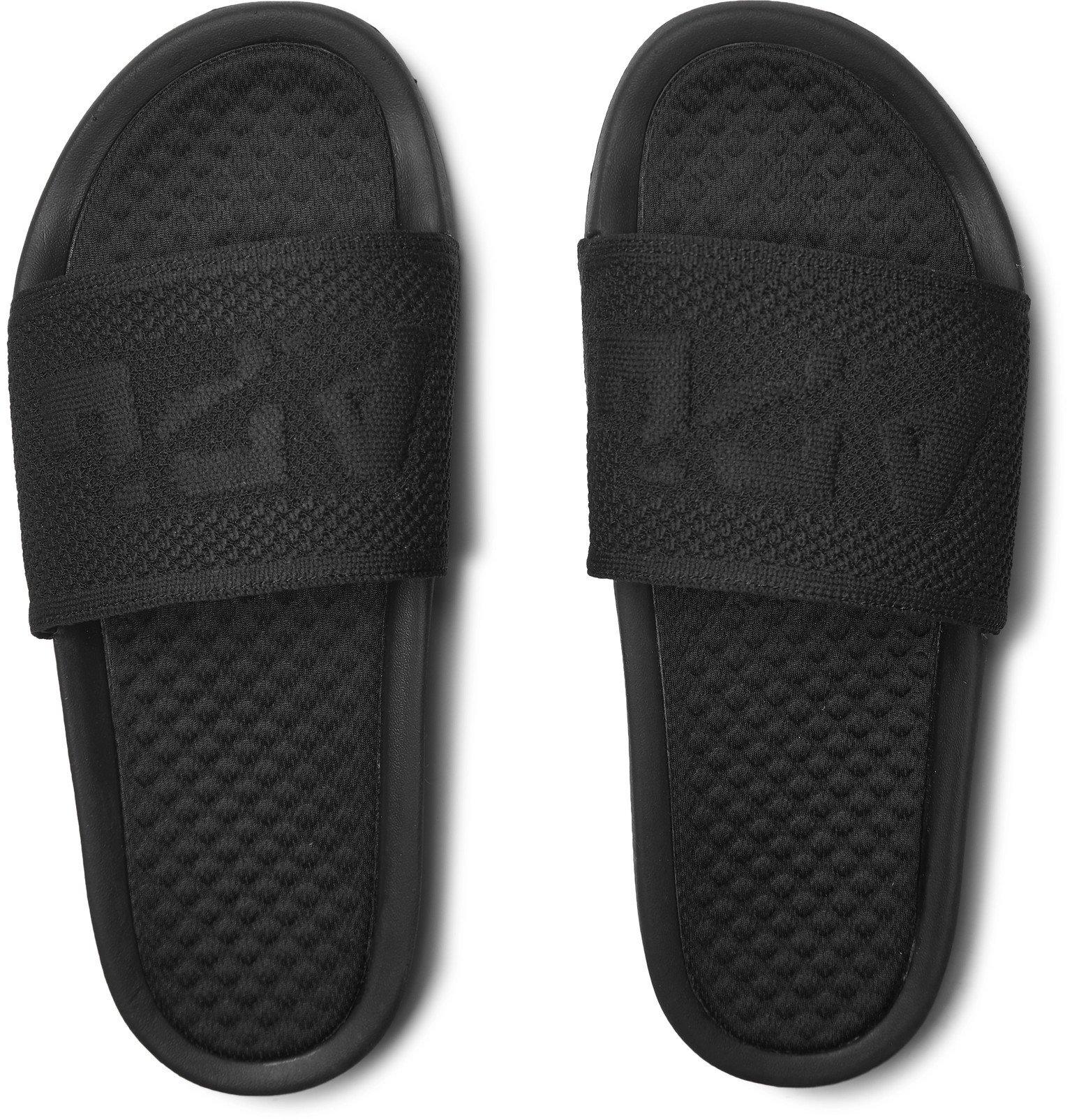 APL Athletic Propulsion Labs - TechLoom Logo-Embossed Slides - Black