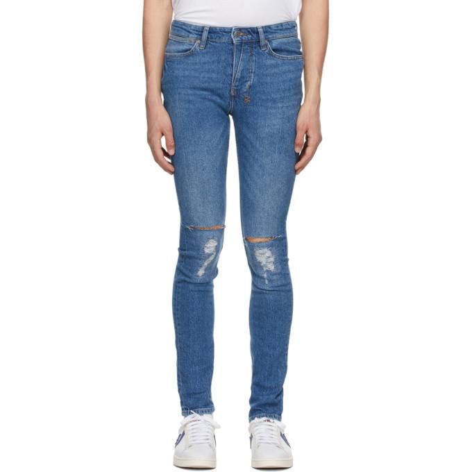 Photo: Ksubi Blue Van Winkle Trashed Jeans