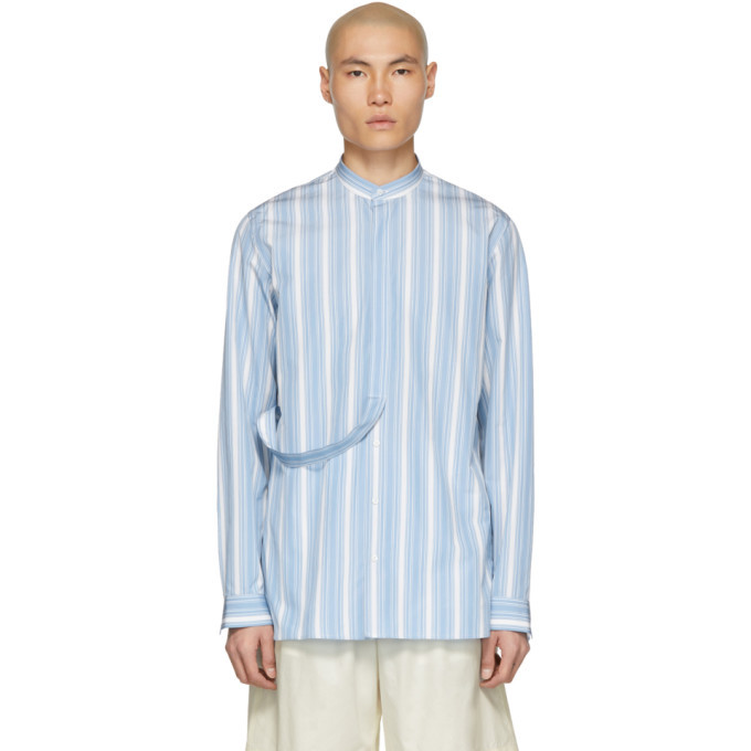 Photo: Jil Sander Blue Ritmo Shirt