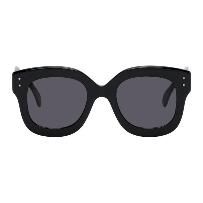 Photo: ALAIA Black Oversized Sunglasses
