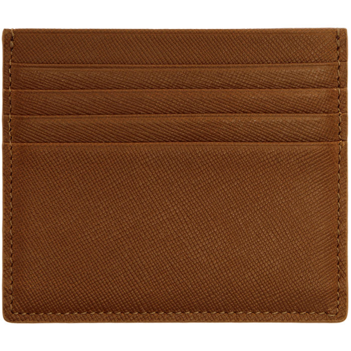 Common Projects Brown Large Card Holder