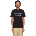 Martine Rose Black Classic T-Shirt