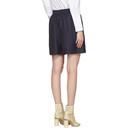 Acne Studios Navy Sachi Shorts