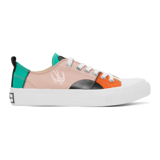 Photo: McQ Alexander McQueen Multicolor Orbyt Low Sneakers