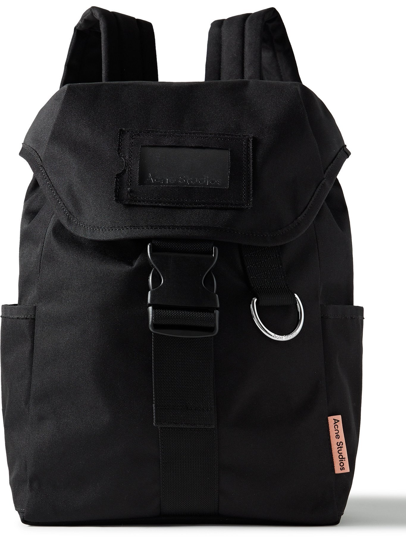 Photo: ACNE STUDIOS - Webbing-Trimmed Twill Backpack