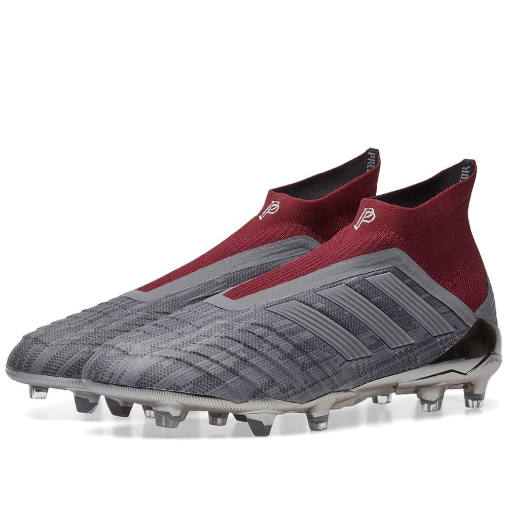 estaño represa lado  Adidas x Paul Pogba Predator 18+ FG Grey Adidas