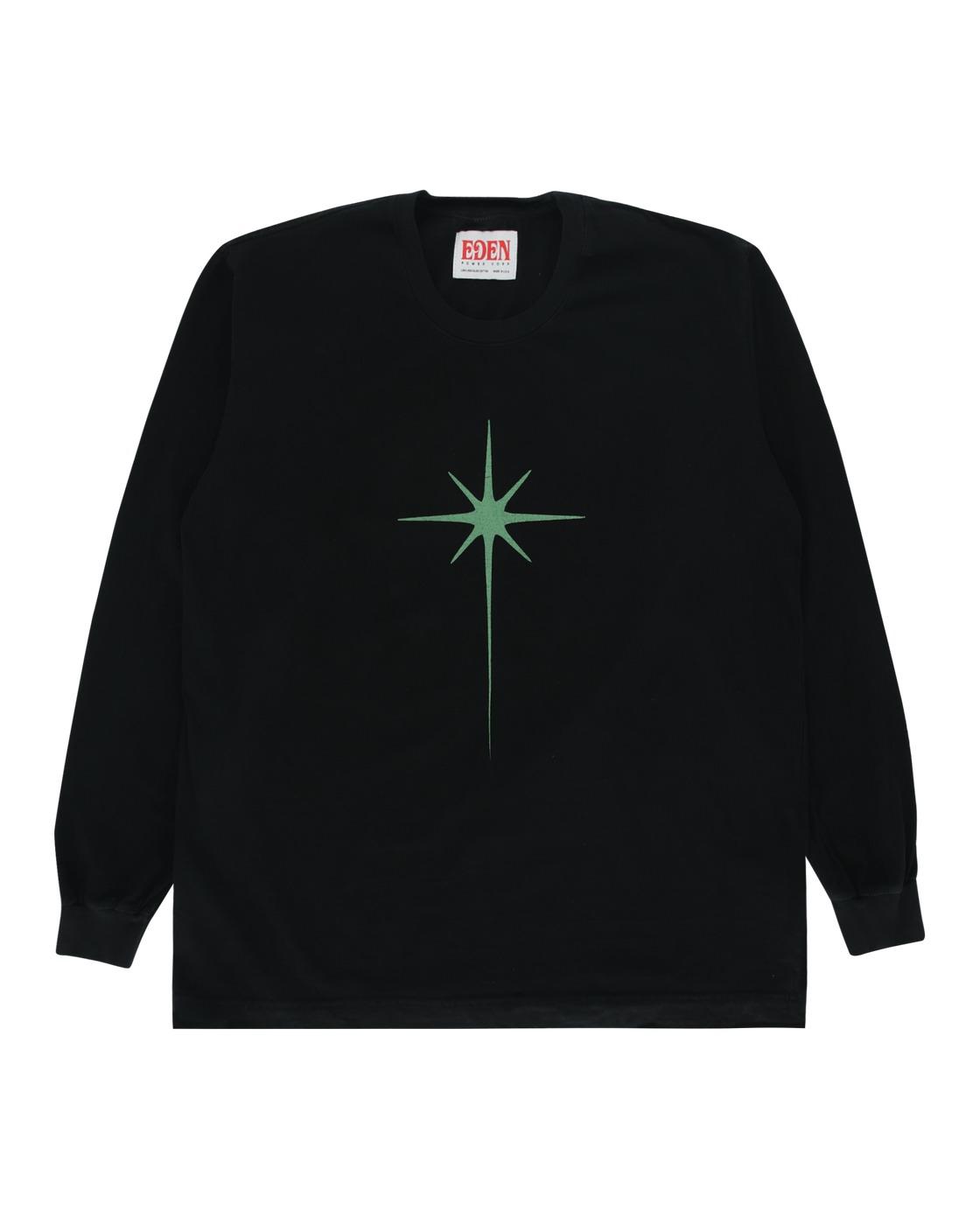 Eden Power Corp Shining Star Recycled Longsleeve T Shirt Black
