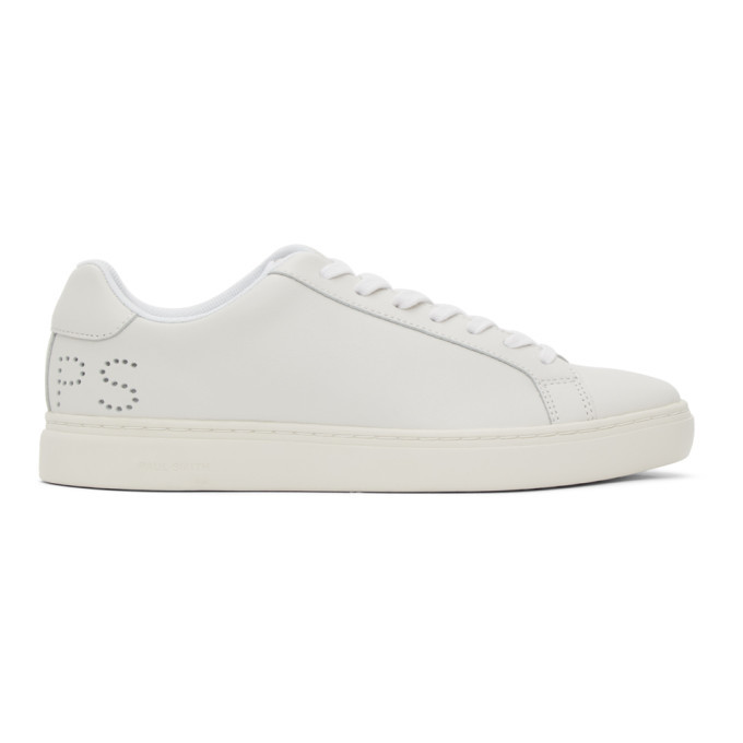 Photo: PS by Paul Smith Off-White Rex Perforated Sneakers