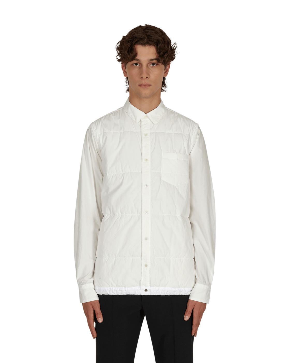 Photo: Sacai Quilted Shirt White