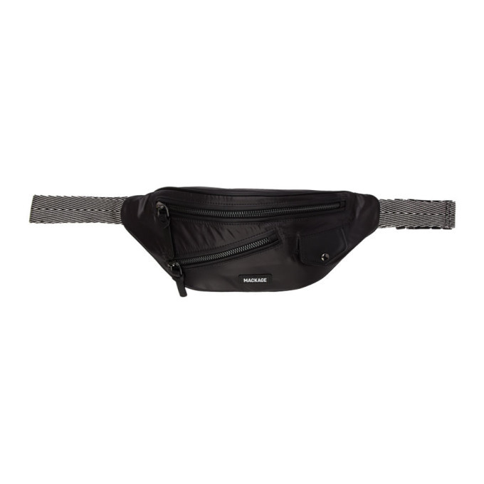 Photo: Mackage Black Jan-C Money Belt Pouch