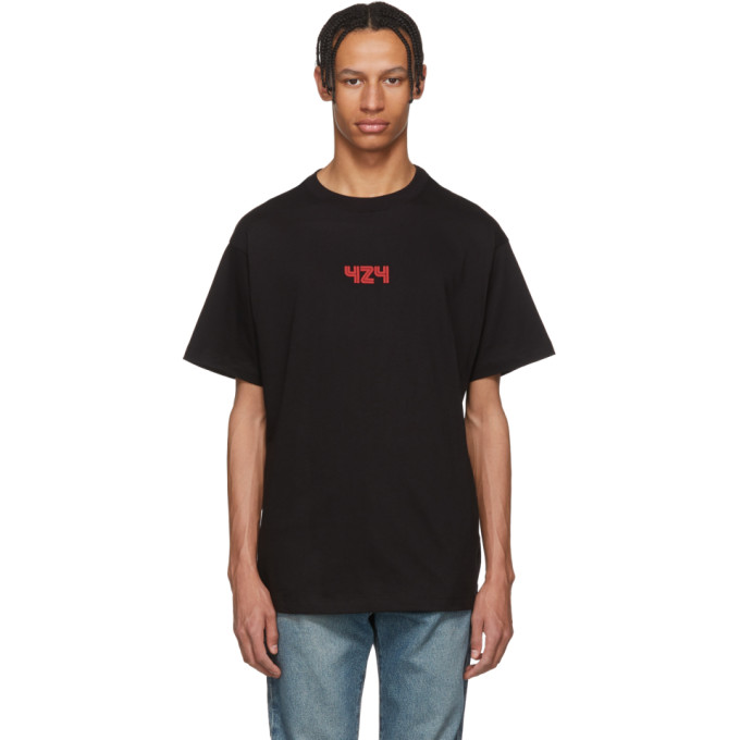 Photo: 424 Black and Red Death Star T-Shirt