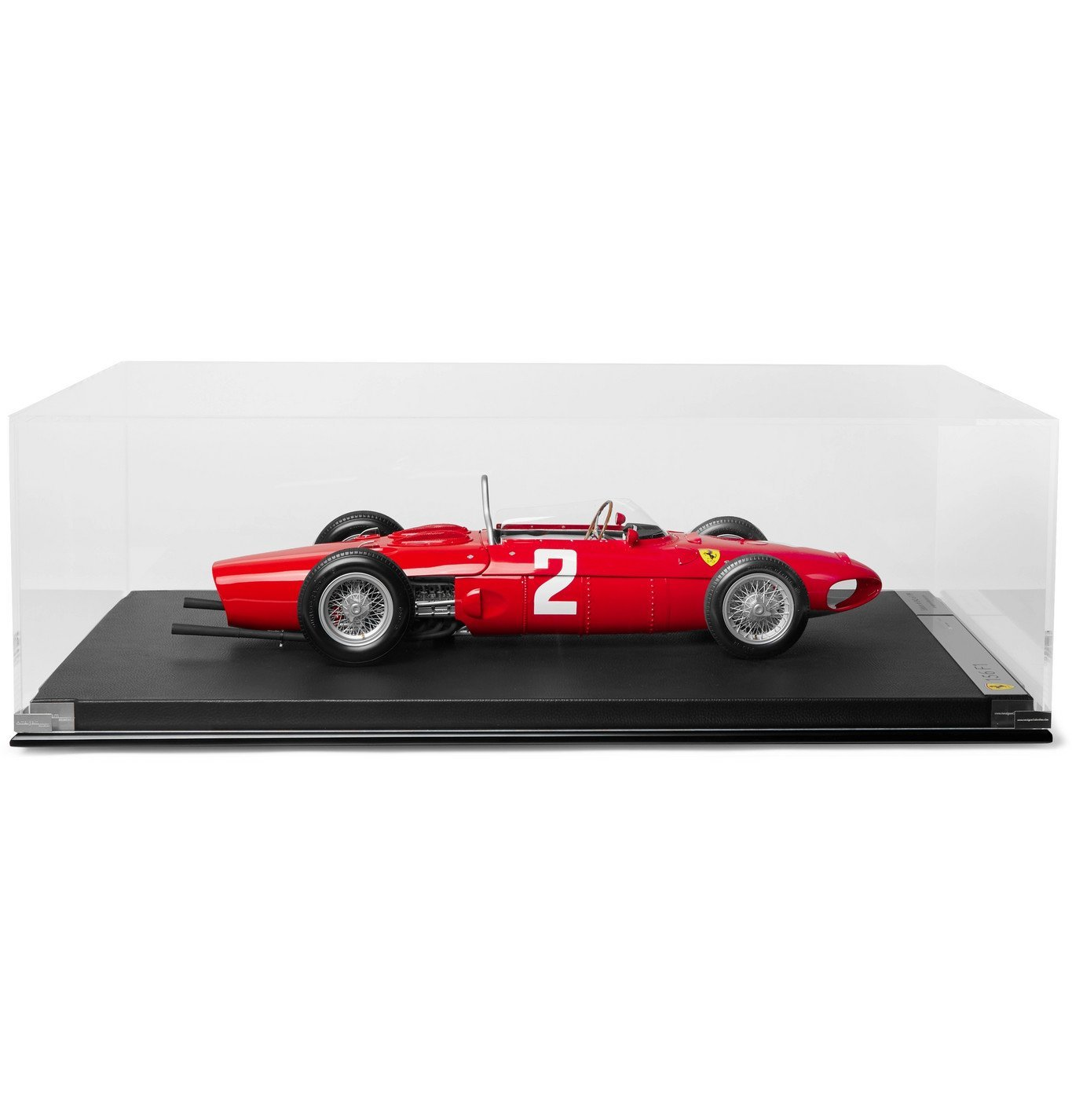 Photo: Amalgam Collection - Ferrari F156 F1 Sharknose 1:8 Model Car - Red