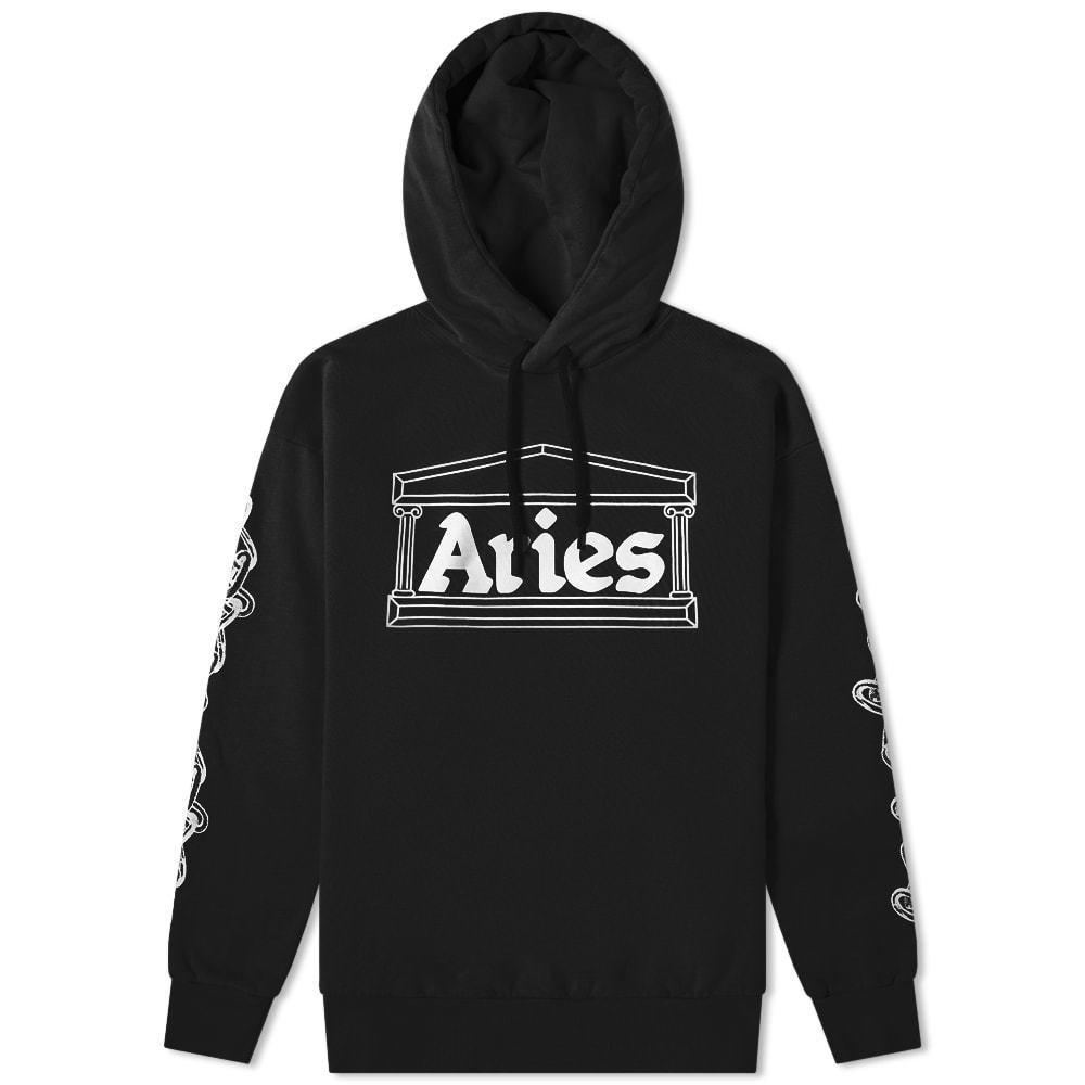Aries 2 Chains Logo Hoody