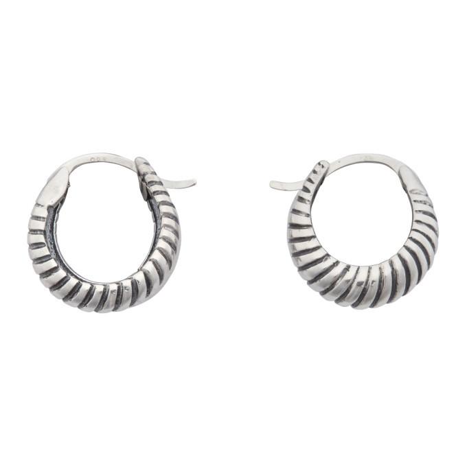 Photo: Sophie Buhai Silver Small Double Rope Hoop Earrings