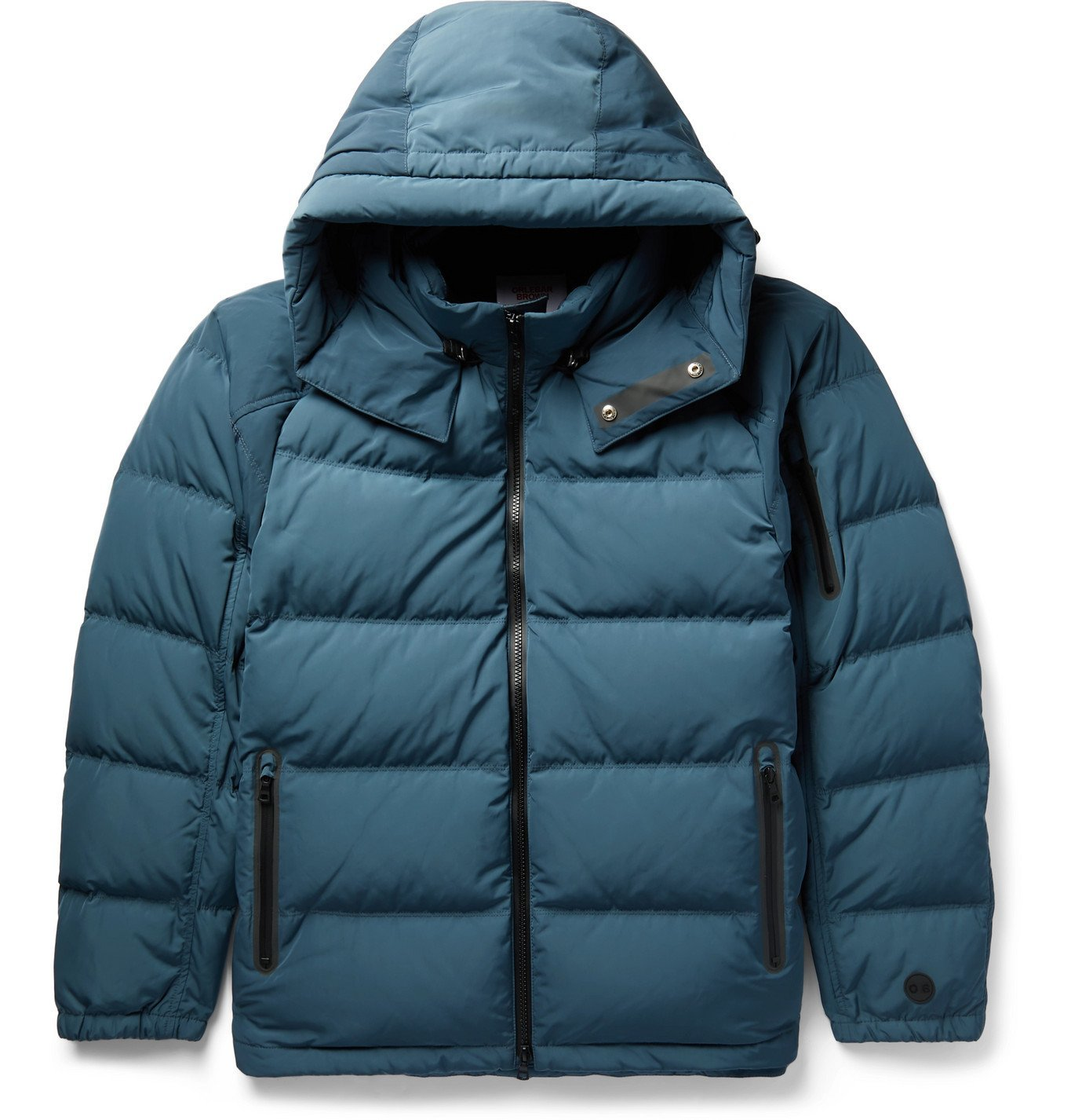 Photo: Orlebar Brown - Ritter Quilted Shell Hooded Down Jacket - Blue
