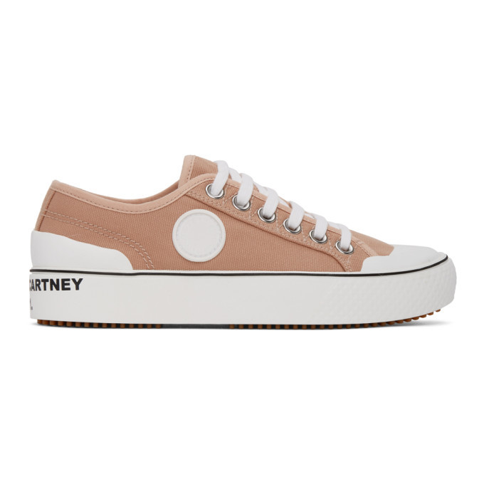 Photo: Stella McCartney Pink Canvas Sneakers