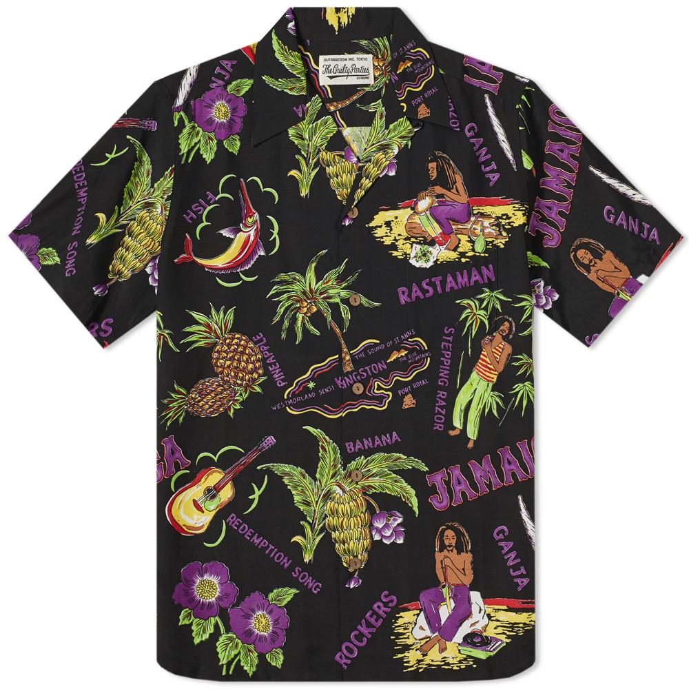 Photo: Wacko Maria Short Sleeve Jamaica Hawaiian Shirt
