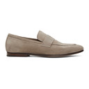 Dunhill Beige Suede Soft Chiltern Loafers
