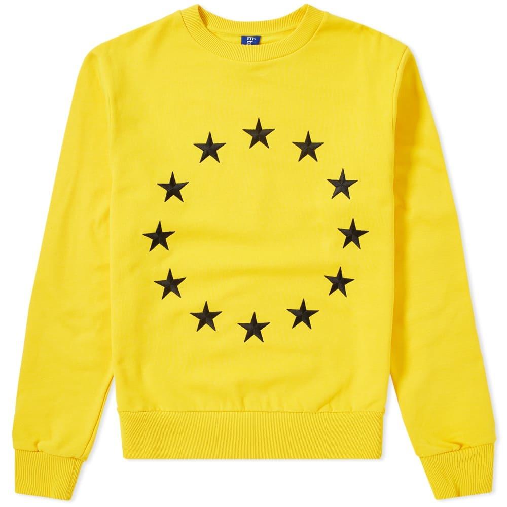 Photo: Études Etoile Europa Stars Crew Sweat Yellow