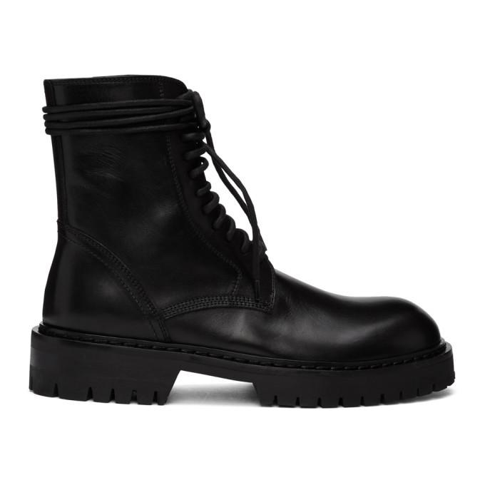 Photo: Ann Demeulemeester Black Calfskin Boots