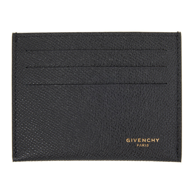 Photo: Givenchy Black 3CC Card Holder