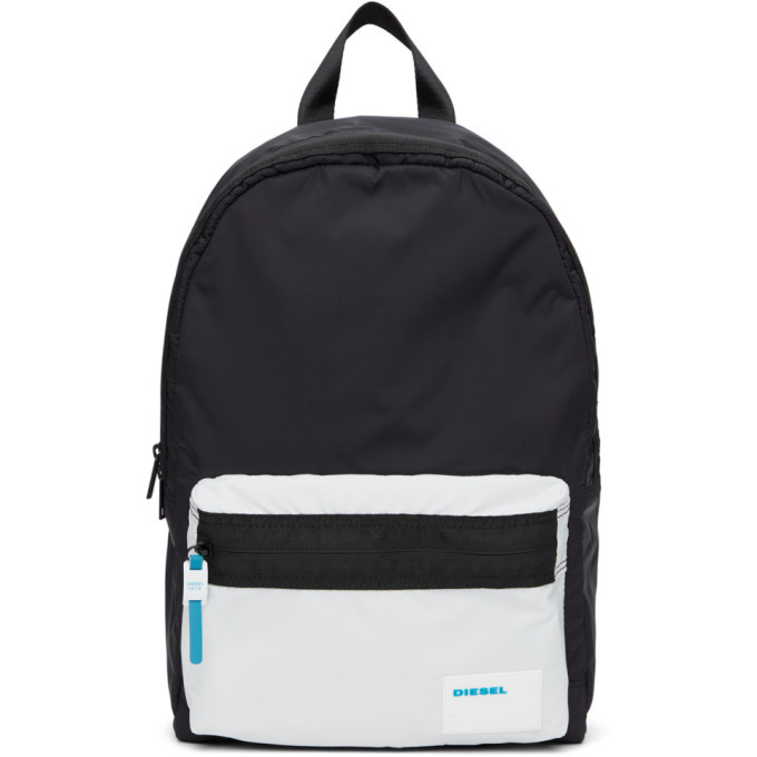 Photo: Diesel Black and White Mirano Backpack