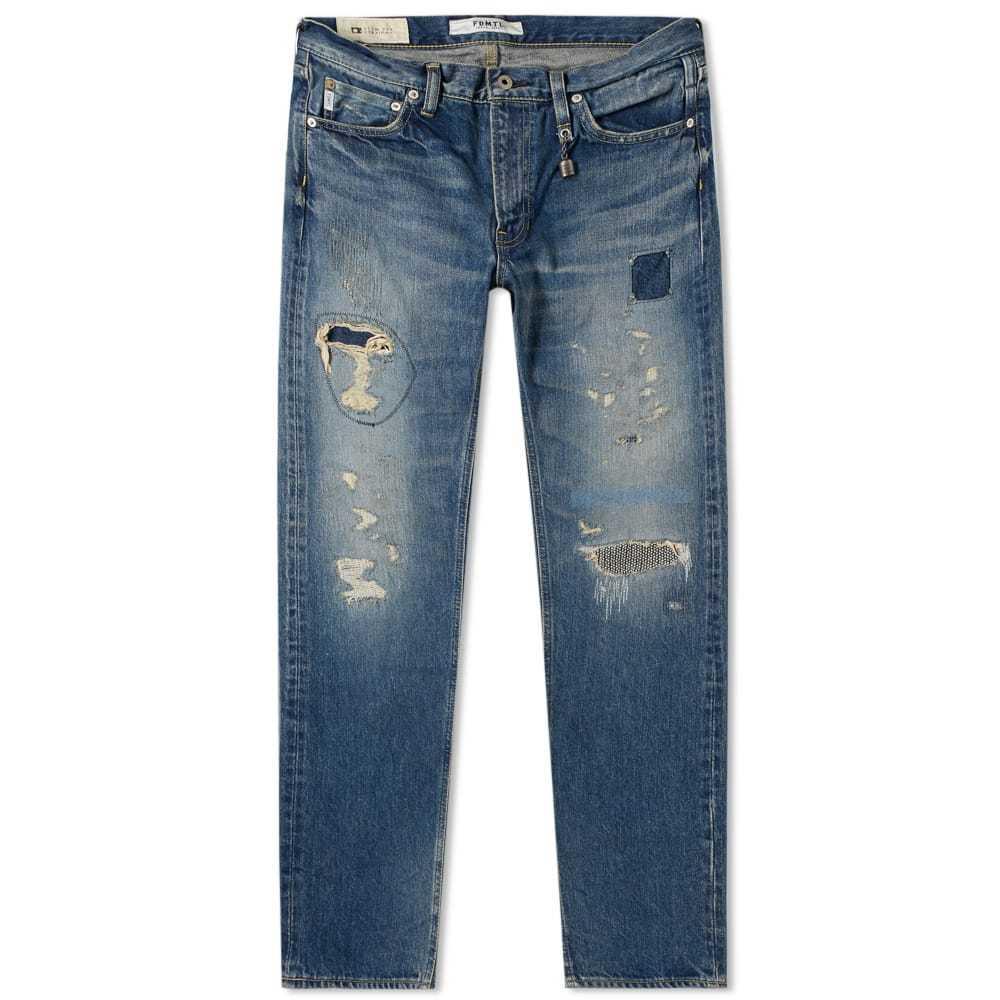 Photo: FDMTL Trace Slim Fit Denim Jean