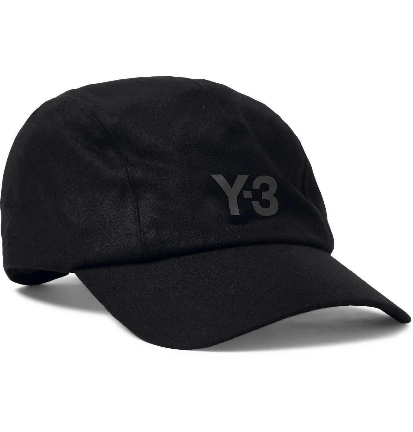 Photo: Y-3 - CH1 Logo-Print Wool-Blend Baseball Cap - Black