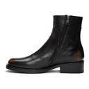 Raf Simons Black Lo Classic Boots